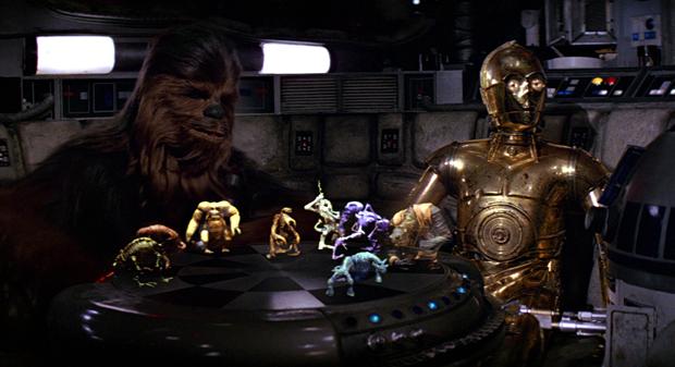 Кадр из фильма «Звёздные войны. Эпизод IV: Новая надежда». Изображение № 2.