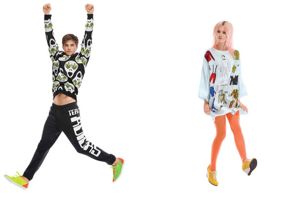 Лукбуки: adidas Originals x Jeremy Scott, Minkpink, Something Else и другие. Изображение № 32.