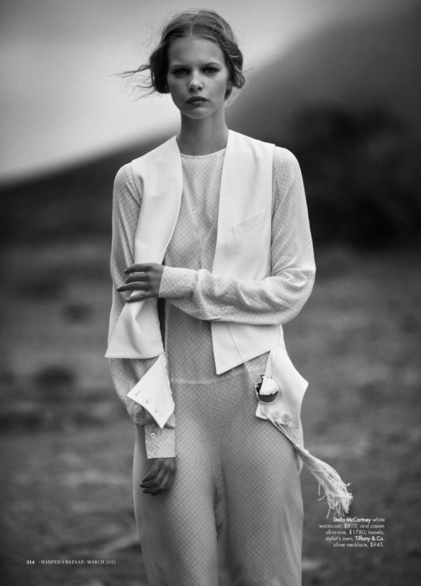 Marloes Horst by Will Davidson for Harpers Bazaar Australia March2012. Изображение № 12.