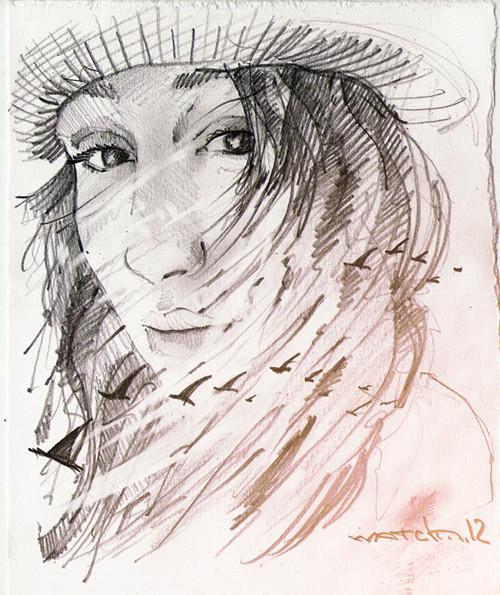 Sketch portraits. Изображение № 5.