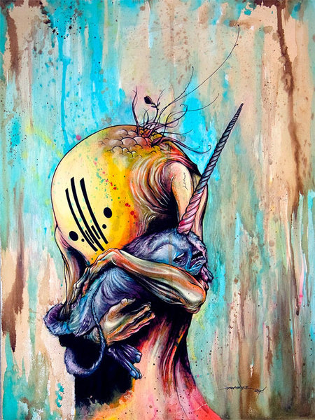 "Alex Pardee ""If i am not creating, i will die. "". Изображение № 2."