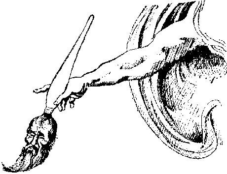 Карикатуры на писателей. Изображение № 45.