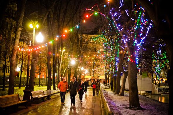 Открытие зимнего сезона на катке «Горки-Город» на Патриарших прудах. Изображение № 14.