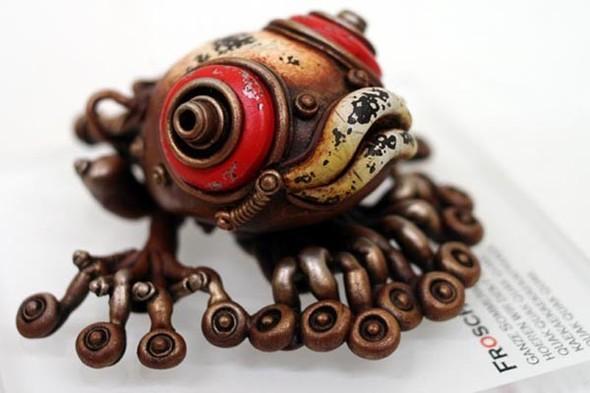 Фантастические скульптуры животных Мишихиро Матсуока. Изображение № 8.