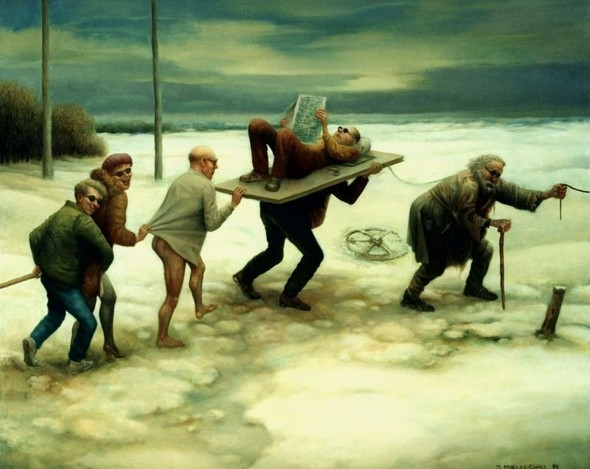 Jarosaw Miklasiewicz «Абсурдность жизни». Изображение № 12.