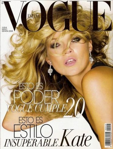 Кейт Мосс на обложках vogue. Изображение № 32.