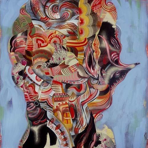 Точка, точка, запятая: 10 современных абстракционистов. Изображение № 54.