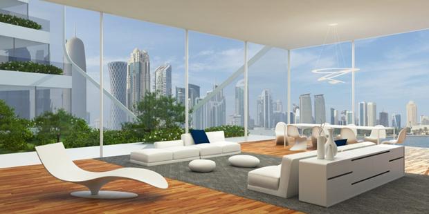 Архитекторы предложили концепт вертикального города на воде. Изображение № 7.