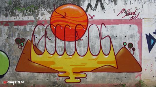 Граффити художники Os Gmeos о творческом пути. Изображение № 34.