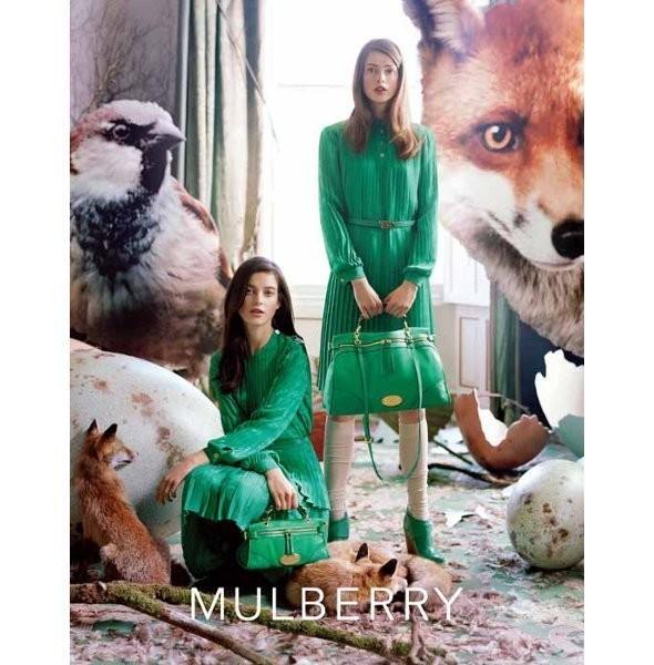 Изображение 6. Рекламная кампания и видео новой коллекции Mulberry.. Изображение № 6.