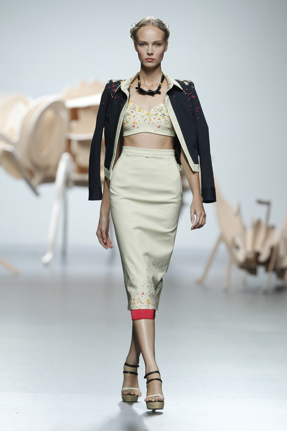Madrid Fashion Week SS 2012: Ana Locking. Изображение № 3.