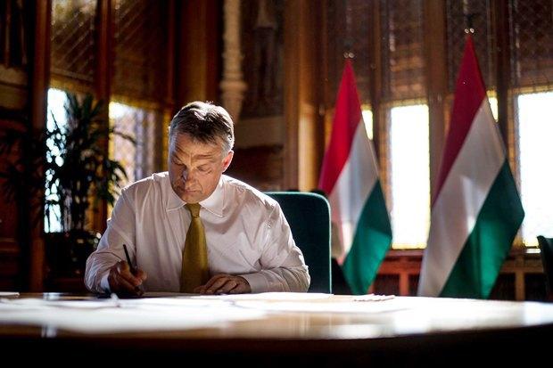 Премьер-министр Венгрии Виктор Орбан. Изображение № 1.