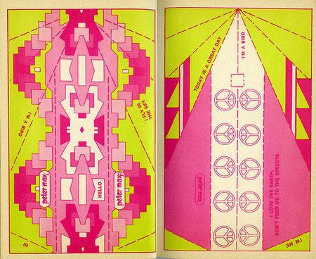 Хипповая книга 1971 года обумажных самолетиках. Изображение № 4.