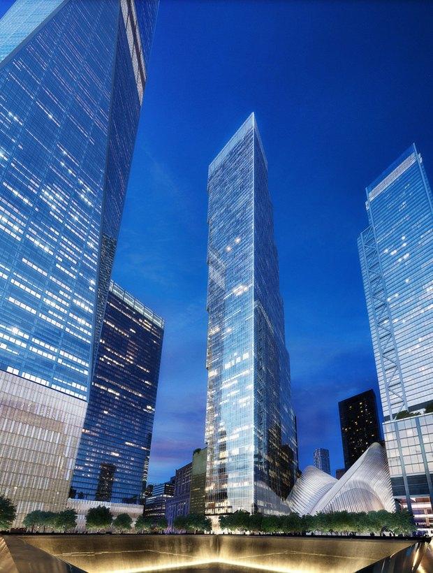 Представлен проект третьей повысоте башни Манхэттена. Изображение № 2.