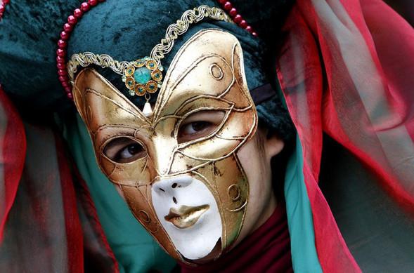 Венецианский карнавал масок. Изображение № 19.