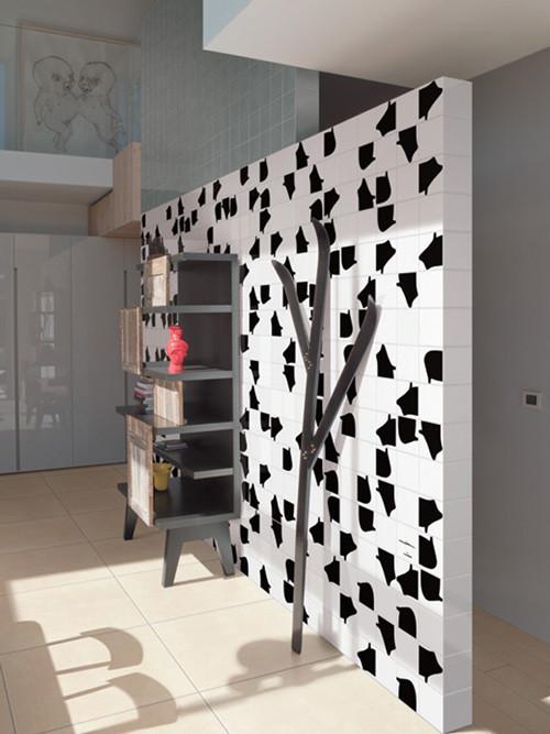 Черно-белый зоопарк: керамическая плитка от Bardelli. Изображение № 8.