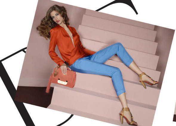 Изображение 19. Рекламные кампании: Diane von Furstenberg, Karl Lagerfeld, McQ и другие.. Изображение № 6.