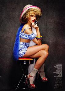Дри Хемингуэй/ Vogue China. Изображение № 48.