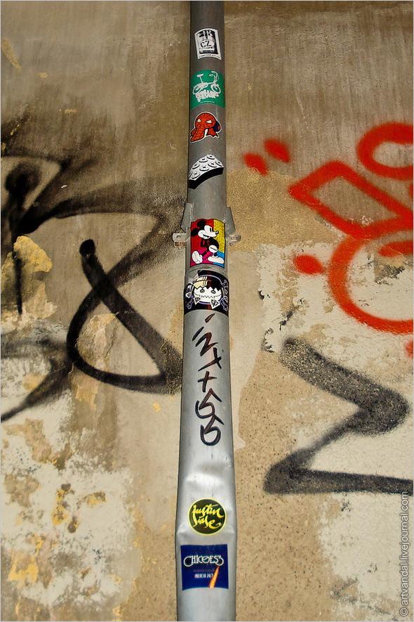 Стрит-арт и граффити Валенсии, Испания. Изображение № 39.
