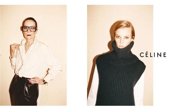 Рекламные кампании: Celine, Calvin Klein, Dolce & Gabbana и другие. Изображение № 4.