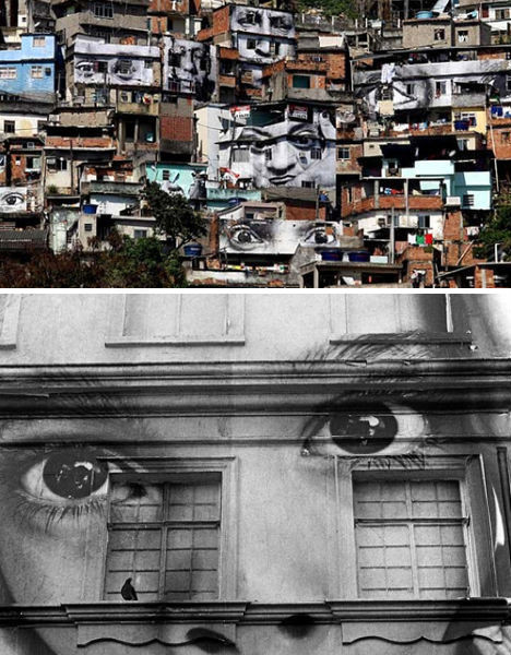 6 невероятных проектов уличных фресок. Изображение № 7.