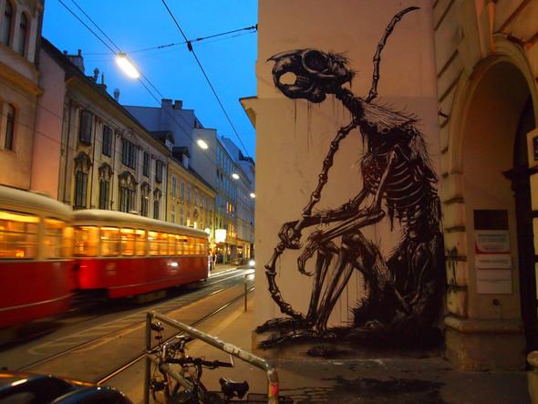 Животный стрит-арт от бельгийского граффитчика ROA. Изображение № 7.