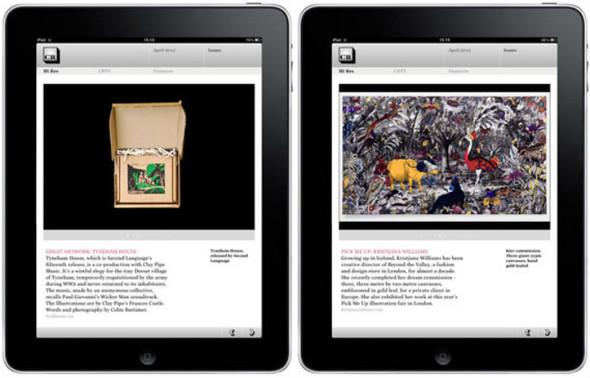 Журнал Creative Review сделал приложение для IPad. Изображение № 3.