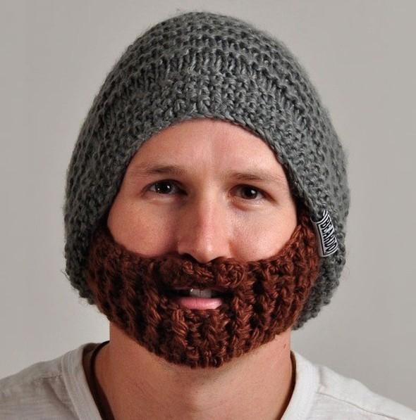 Шапка с бородой. Изображение № 5.