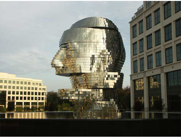 Найдено за неделю: Город будущего в пузырях, гигантская голова и вышитая книга. Изображение № 98.