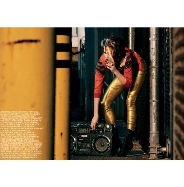 Съёмка: Кармен Педару для Interview. Изображение № 7.