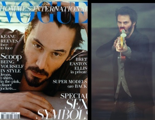 Keanu Reeves for Vogue Hommes. Изображение № 7.