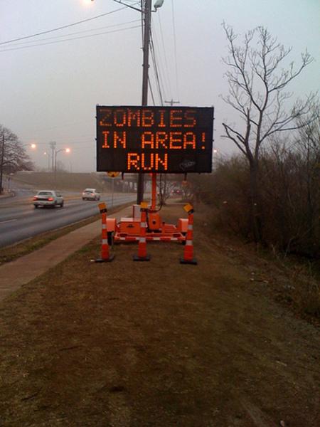 Зомби атакуют Техас илиКак взламываются дорожные знаки. Изображение № 1.