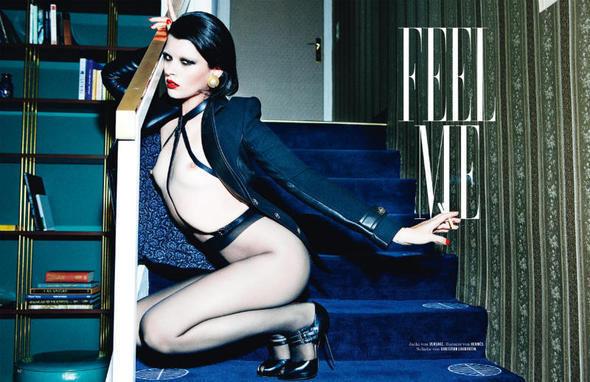 Изображение 19. Съёмки: i-D, Man About Town, Vogue и другие.. Изображение № 25.