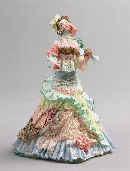 Фарфоровые статуэтки от Shary Boyle. Изображение № 4.