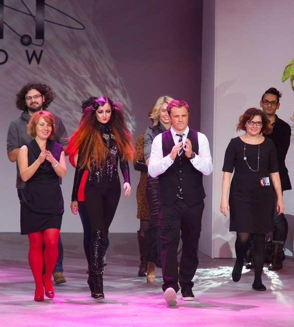 «МОНЕ» «Нежный кокон» на «Alternative Hair Show». Изображение № 11.