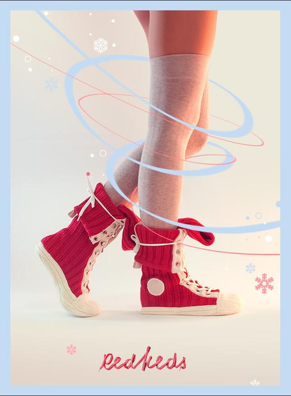 """""""Кувлувы"""" - это такие носки от Red Keds. Изображение № 2."""