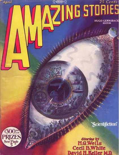Космические обложки Pulp-журналов. Изображение № 6.