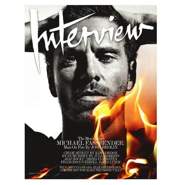 Обложки: Interview и Vanity Fair. Изображение № 1.