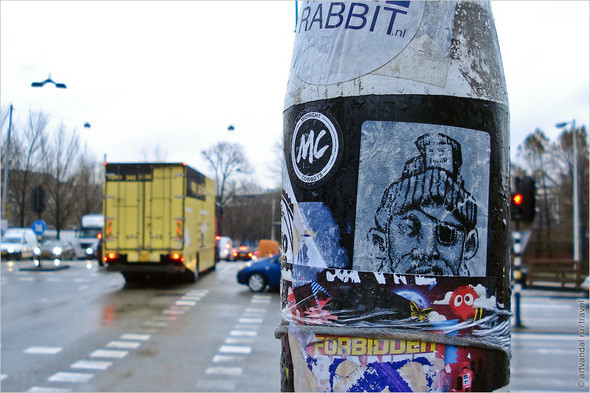 Стрит-арт и граффити Амстердама, Нидерланды. Изображение № 33.