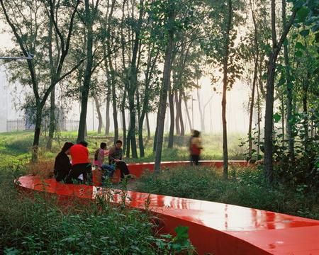 RedRibbon великая китайская скамья. Изображение № 6.