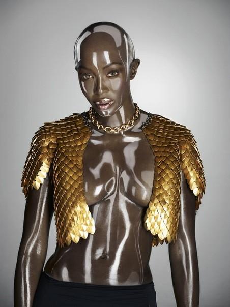 Съёмка: Naomi Campbell 4 Soon International Fall 2011. Изображение № 7.