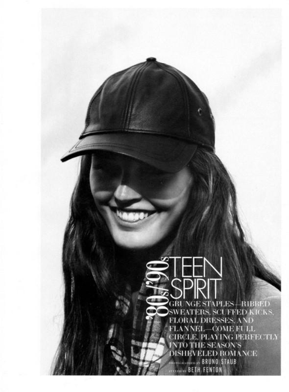 Съёмка: Али Стивенс для Elle. Изображение № 1.