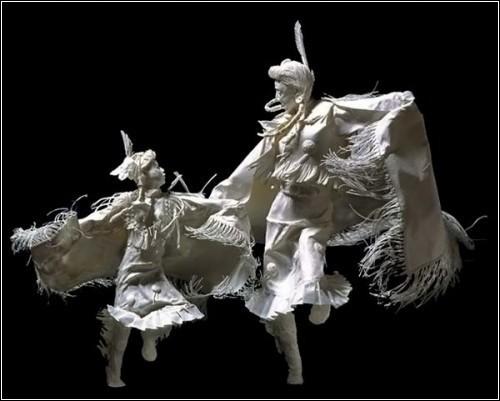 Бумажные скульптуры. Изображение № 33.