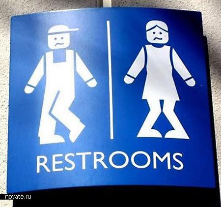 50 Необычных туалетных вывесок. Изображение № 4.