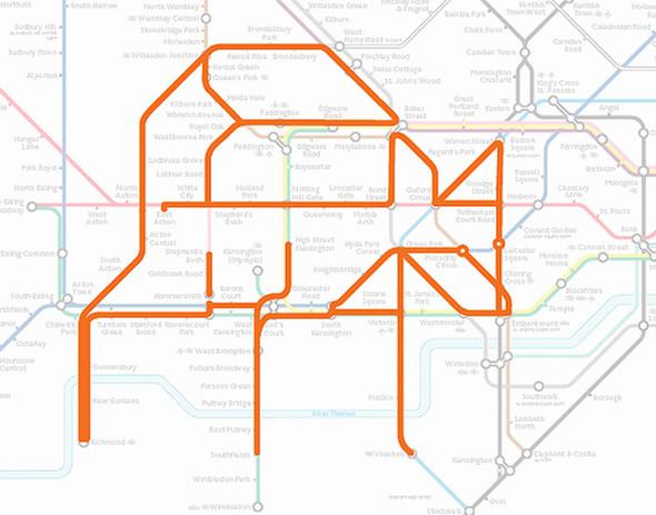 Осторожно! Звери в лондонском метро!. Изображение № 10.