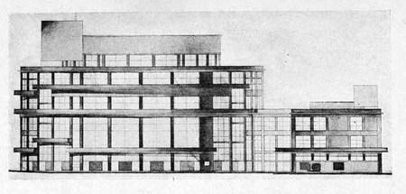 Архитектурные конкурсы 1923–1926 г.вСССР. Изображение № 3.