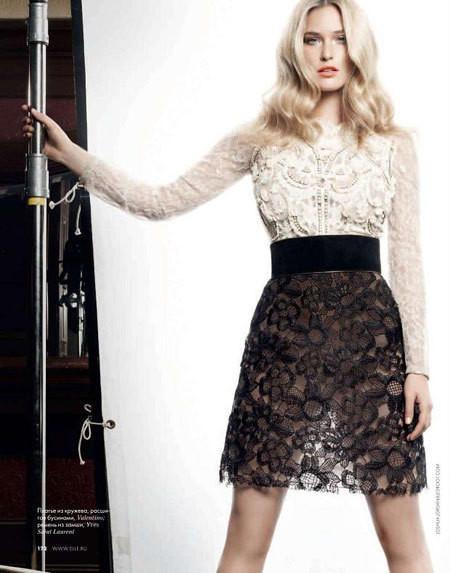Изображение 5. Bar Refaeli в Dolce&Gabbana для ELLE Россия Март 2011.. Изображение № 5.