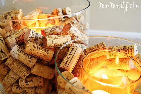 Новогодние украшения из винных пробок. Изображение № 9.