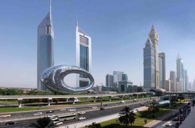 В Дубае показали проект Музея будущего. Изображение № 1.