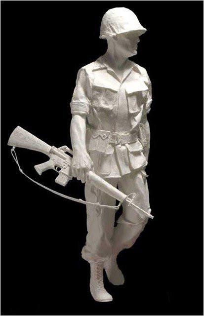 Бумажные скульптуры. Изображение № 41.